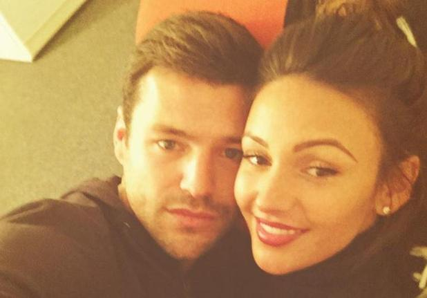 Mark Wright cuddles up to Michelle ahead of Strictly dance - 22 November.