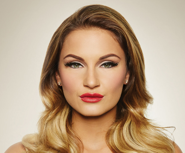 Sam Faiers promotes her Lashes By Samantha false eyelash collection - 25 November 2014