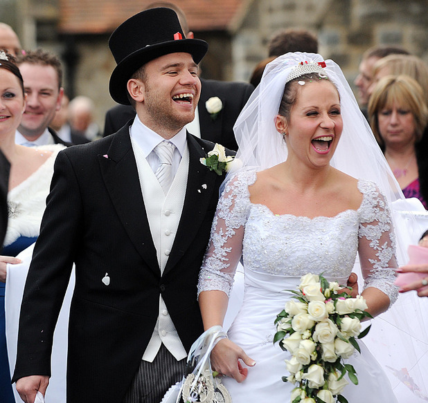 Olly Murs' brother Ben Murs at wedding, Winford, Essex, Britain - 05 Dec 2009