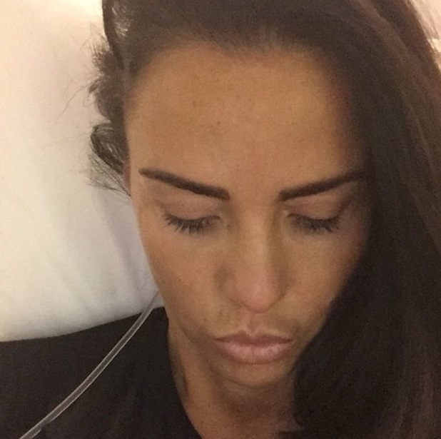 Katie Price teases fans about new boob job 27 November