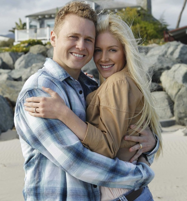 Heidi Montag and Spencer Pratt on Celebrity Wife Swap, August 2014