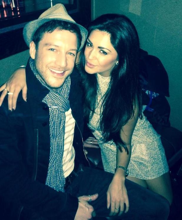 Casey Batchelor and Matt Cardle hang out at Bluebird Chelsea, London, 26 Nov 2014