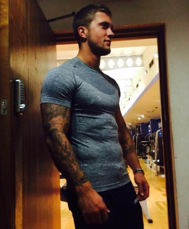TOWIE's Dan Osborne hits the gym amid Jacqueline Jossa speculation - 26 Nov 2014