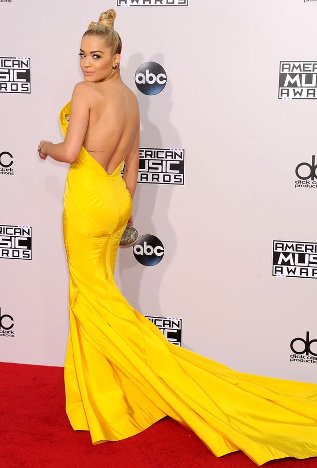 Rita Ora, American Music Awards, Arrivals, Los Angeles, America - 23 Nov 2014