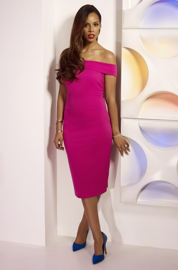 Rochelle Humes models her second clothing collection for Very.co.uk - 25 November 2014