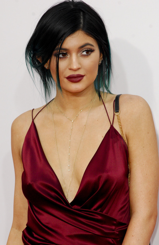 Kylie Jenner attends the American Music Awards 2014 in Los Angeles, America - 23 November 2014