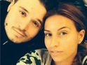 Ferne McCann goes without make-up for a selfie with Charlie Sims - 25 Nov 2014