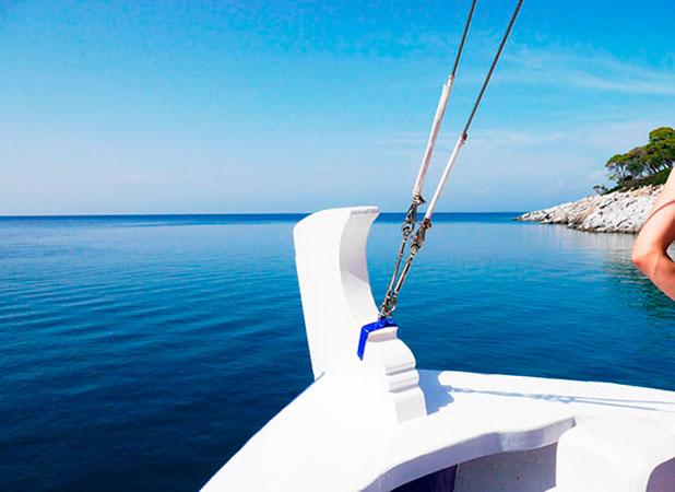 Greece, Halkidiki: Boat