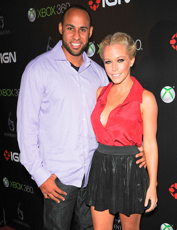 Hank Baskett and Kendra Wilkinson, IGN and Capcom's party celebrating the launch of Resident Evil 6 at Lure - Arrivals Hollywood, California - 28.09.12