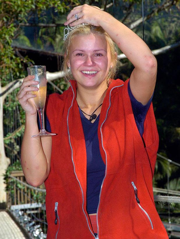 Kerry McFadden wins I'm A Celebrity,10 FEB 2004