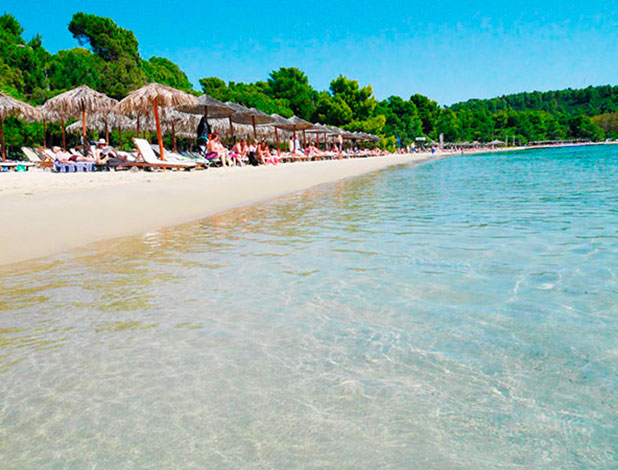 Greece, Skiathos: Koukounaries beach