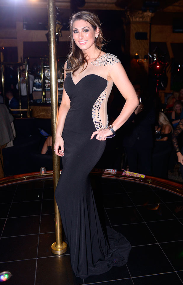 Luisa Zissman at the Paul Raymond Adult Industry Awards at Spearmint Rhino, London, Britain - 24 Nov 2014