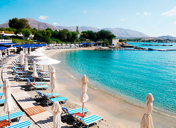Greece, Athens: Private beach