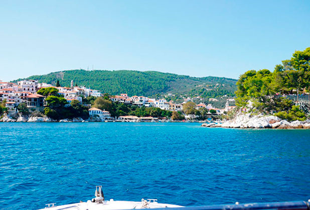 Greece, Skiathos: The beautiful scenery