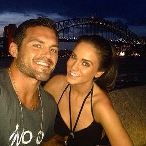 Vicky Pattison and Dan Conn reunite in Sydney, Australia 2 December