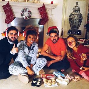 X Factor semi finalists celebrate Christmas in the house - 2 December 2014