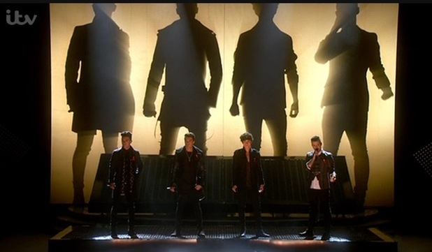Union J perform 'You Got It All' on The X Factor, ITV 30 November