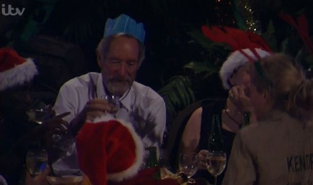I'm A Celebrity... Get Me Out Of Here! Christmas party in camp. Aired: 3 December 2014.