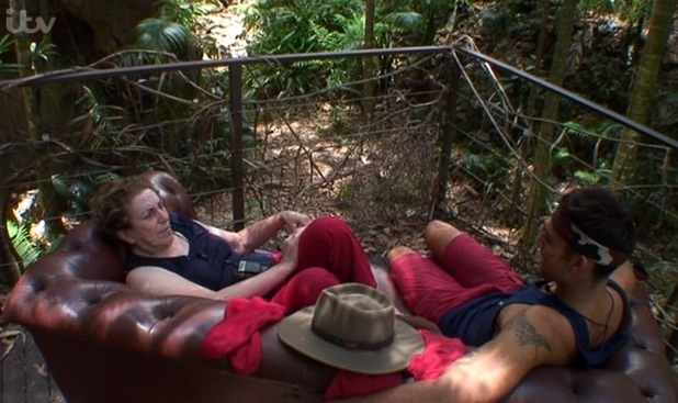 I'm A Celebrity... Get Me Out Of Here! Jake and Edwina - 4 December.