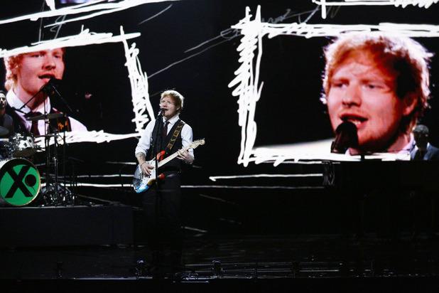 the Royal Variety Performance 2014, Ed Sheeran, Mon 8 Dec