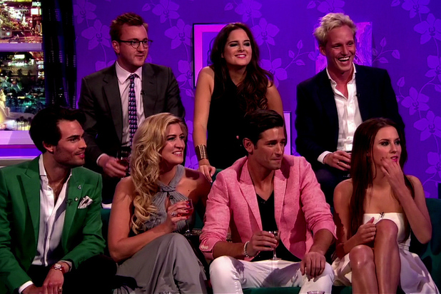 Alan Carr Chatty Man. The Cast of Made In Chelsea talk about winning a BAFTA for the show.