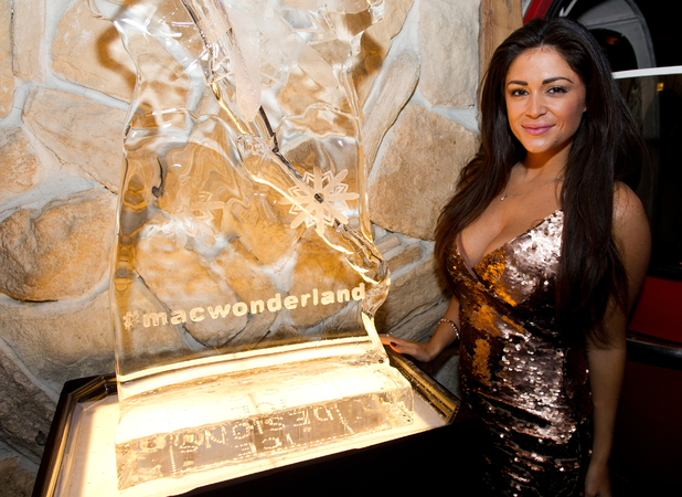 Casey Batchelor attends launch of Macmillan Cancer Support's Wonderland in November 2014
