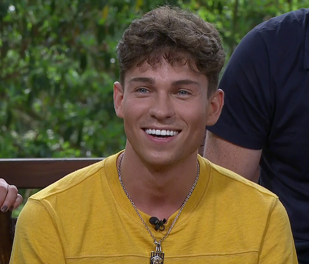 Joey Essex on I'm A Celebrity... Get Me Out Of Here Now!, Shown on ITV2 HD. 26/11/14.
