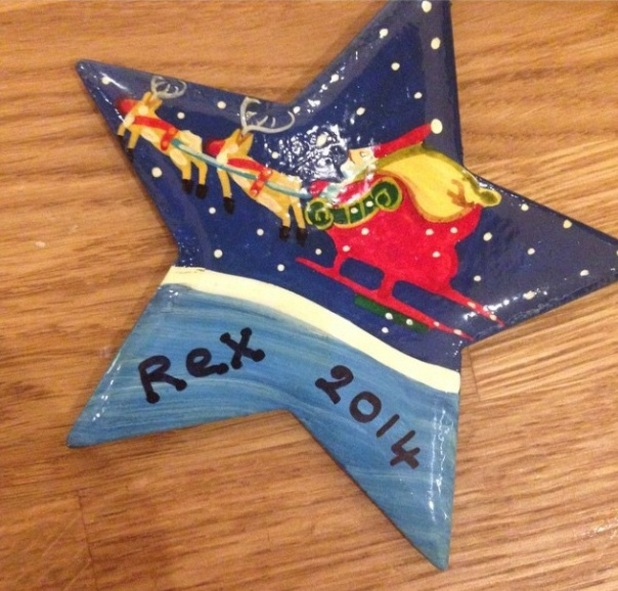 Fearne Cotton's picture of Rex's decoration, 3/12/14