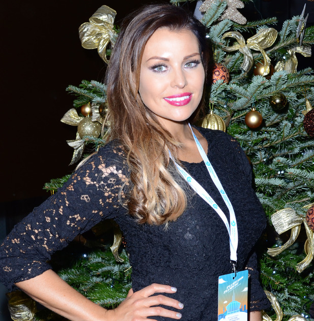 Jessica Wright - Launch of the Barclaycard Arena following a £26 million redevelopment - 2 December 2014