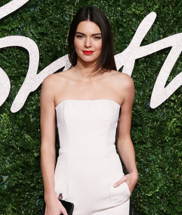 Kendall Jenner, The British Fashion Awards 2014 held at London Coliseum - Arrivals, 1 December 2014