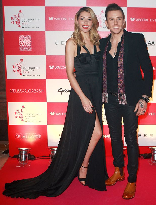 Georgia and Danny Jones attend the UK Lingerie Awards in London, England - 3 December 2014