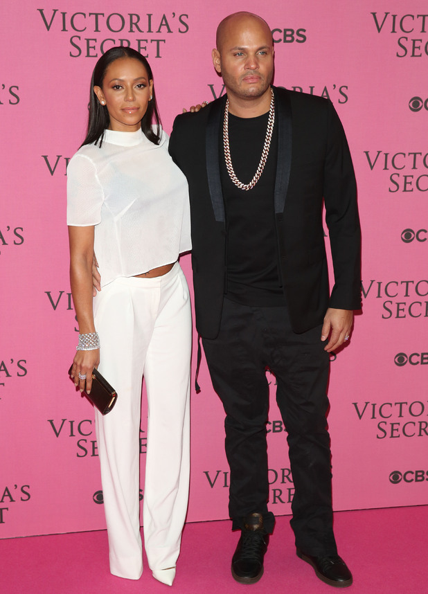 Mel B and husband Stephen Belafonte attend Victoria's Secret Fashion Show, Earl's Court, London 2 December