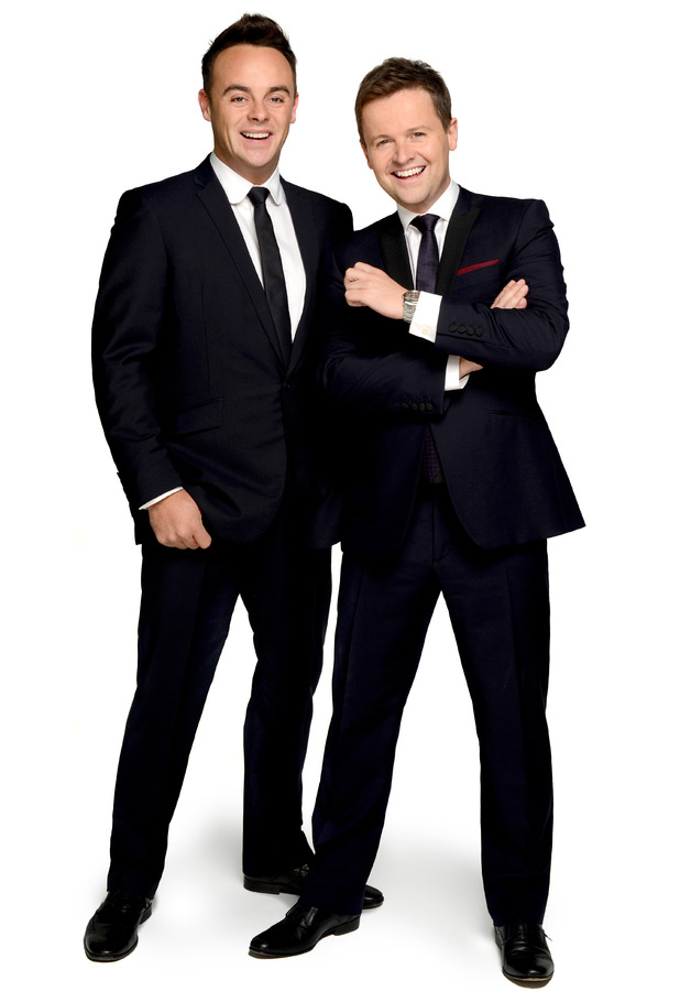 BRITs 2015 hosts - Ant and Dec.