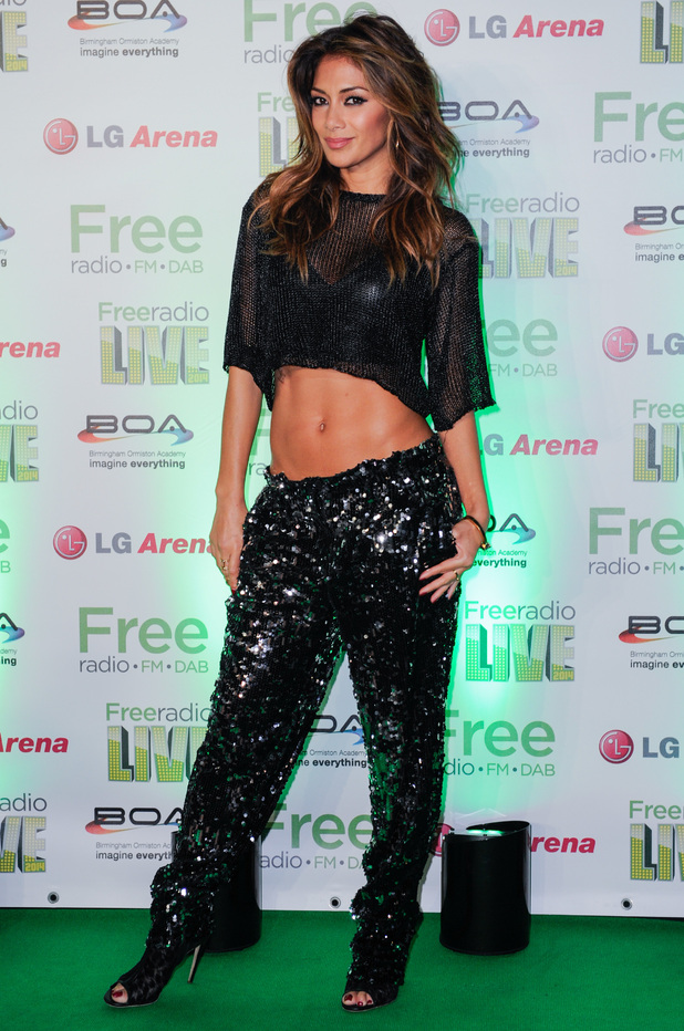 Nicole Scherzinger attends the Free Radio Live concert in Birmingham, England - 29 November 2014