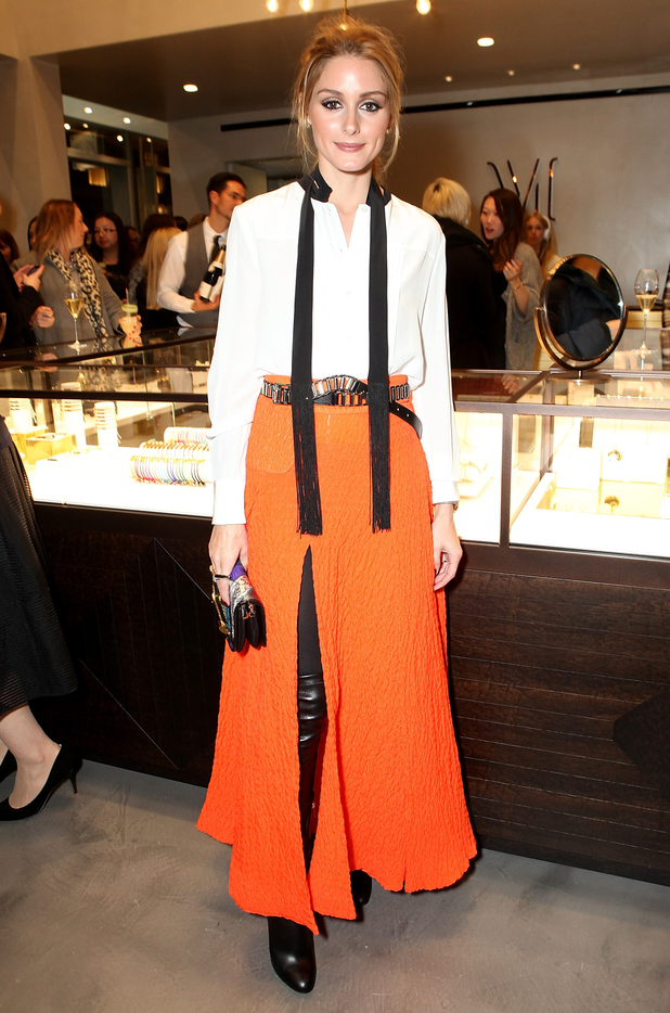 Olivia Palermo attends the Monica Vinader flagship store opening in London, England - 4 December 2014