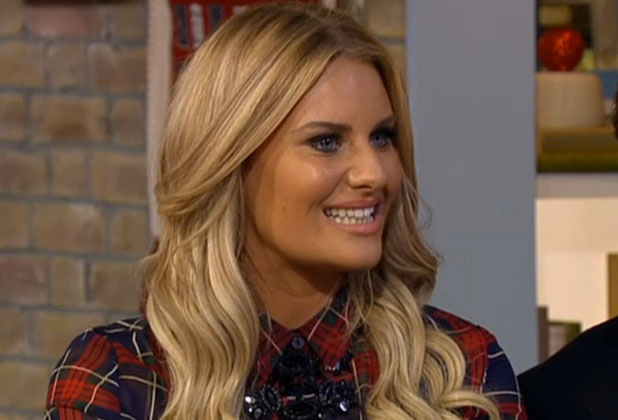 Danielle Armstrong appears on ITV's This Morning, 5 December 2014