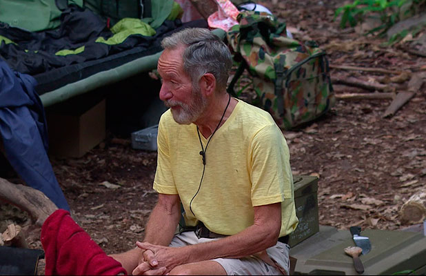Michael Buerk on 'I'm a Celebrity... Get Me Out of Here!'. Shown on ITV1 HD.