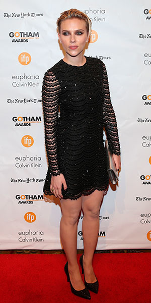 24th Annual Gotham Independent Film Awards, New York, America - 01 Dec 2014 Scarlett Johansson