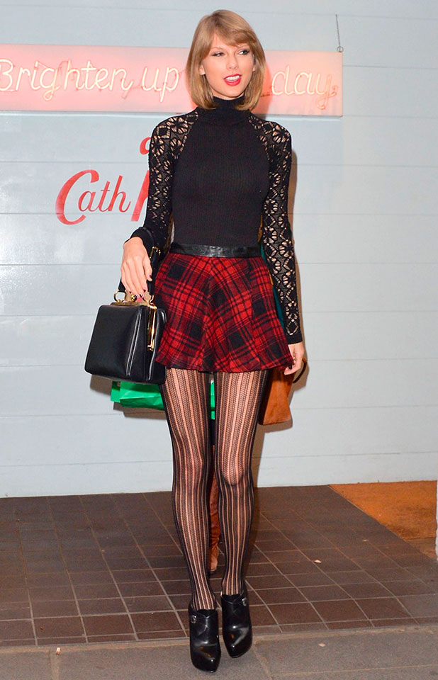 Taylor Swift out and about in London, Britain - 01 Dec 2014