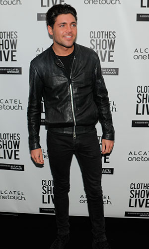 Tom Pearce at Clothes Show Live at the NEC Birmingham, Britain - 05 Dec 2014