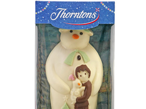 Competition: Win a giant £50 Thorntons Chocolate Snowman delivered to your door