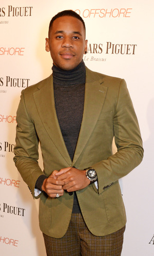 Reggie Yates attends the Audemars Piguet Royal Oak Offshore 42mm Party at Victoria House on April 23, 2014 in London, England.