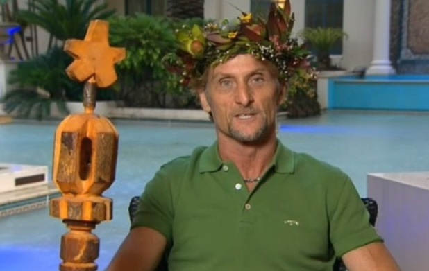 'I'm A Celebrity... Get Me Out Of Here! winner Foggy on Good Morning Britain - 8 December 2014.