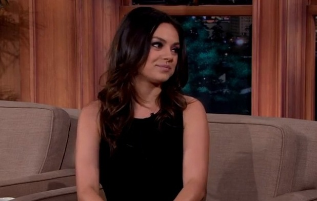 Mila Kunis appears on The Late Late Show with Craig Ferguson 10 December