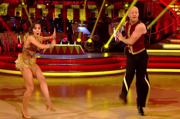 Jake Wood performs on Strictly, BBC One 6 December