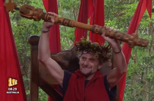 Carl 'Foggy' Fogerty is crowned I'm A Celebrity's 2014 winner - 9 Dec 2014