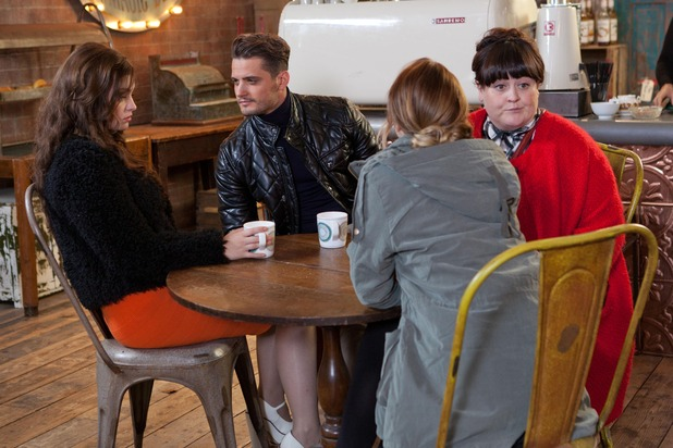 Hollyoaks, Ziggy dates Celine, Wed 10 Dec