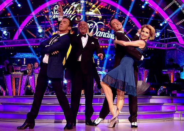 Strictly Come Dancing judges Len Goodman, Bruno Tonioli, Darcey Bussell, Craig Revel Horwood December