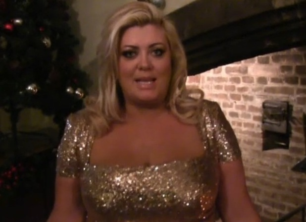 Gemma Collins appears on TOWIE official website, 12 December 2014