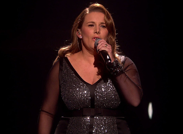 Sam Bailey performs her new single 'With You' on 'The X Factor, Semi Final - The Results' - 7 Dec 2014